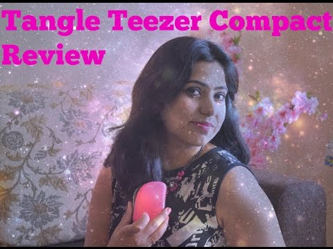Tangle Teezer Compact  Styler - Review, Demo and Availability in India
