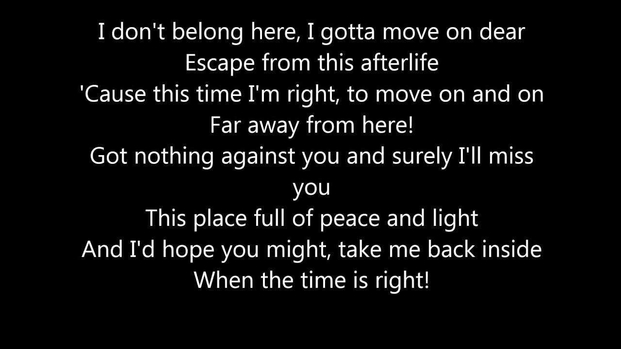 lyrics for avenged sevenfold songs? | Yahoo Answers