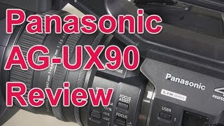 Review: Panasonic AG-UX90 4K camcorder (and comparison with AG-UX180 and HC-X1)