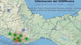 🔘Última hora TENEMOS Sismo Oaxaca M4,4 🔘🔴