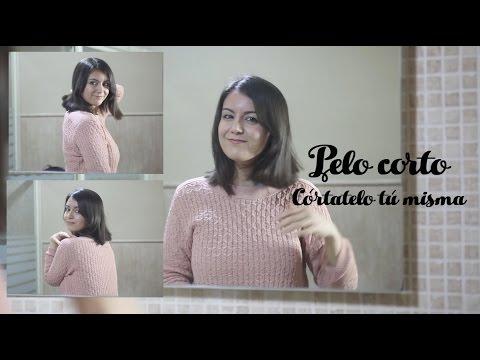 Como cortarse el cabello corto una misma