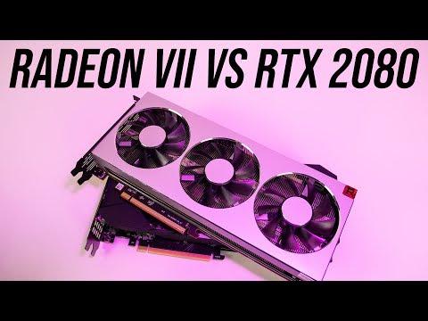 Amd Radeon Vii Vs Nvidia Rtx 2080 Benchmarks Comparisons Youtube