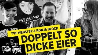 Interview mit: RONJA BLOCK & YVE WEBSTER mit dem TATTOO TRUCK | TattooMed