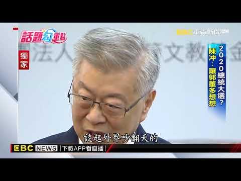 分析2020總統大選 陳冲:大家別太急太認真