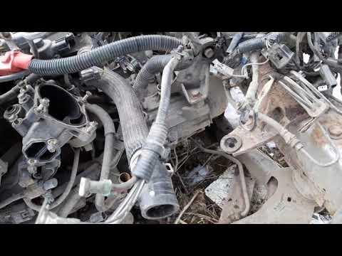 Mazda 6 (GG) Снятие двигателя и подърамника с кузова