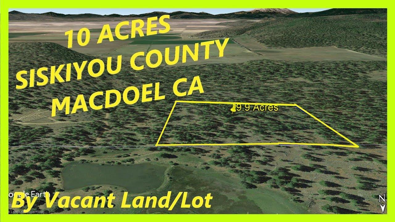 SOLD!  Land for sale in Macdoel CA - 9.9 Acres in Macdoel, Siskiyou county, California