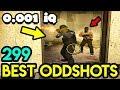 BLIND TEAMMATE *0.001 IQ* - CS:GO BEST ODDSHOTS #299
