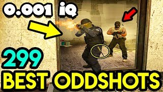 BLIND TEAMMATE *0.001 IQ* - CS:GO BEST ODDSHOTS #299