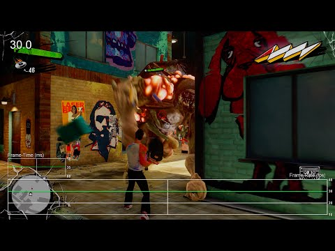 Sunset Overdrive Xbox One Single-Player Frame-Rate Test