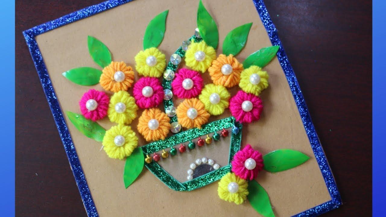 Diy Cardboard Craft Ideas Craft Ideas With Waste Material Waste