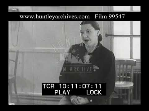 Elocution Lesson, 1950s - Film 99547