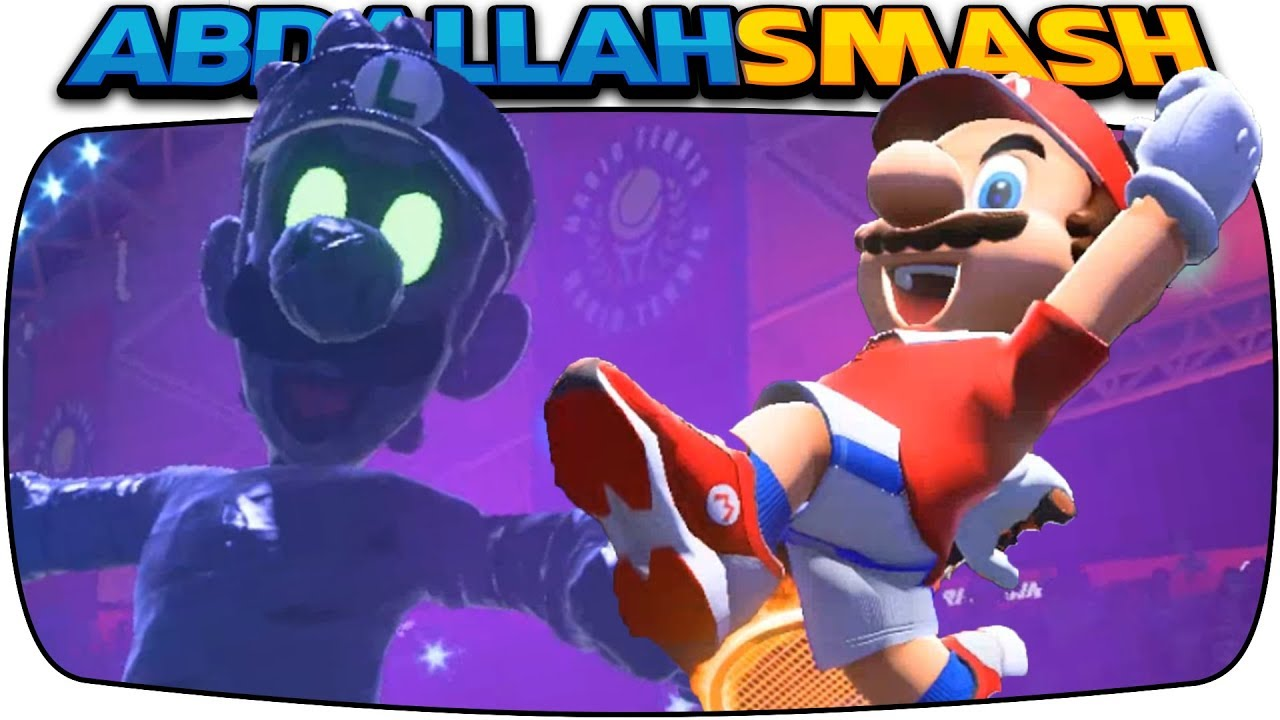 Mario Tennis Aces Mario Vs Evil Luigi