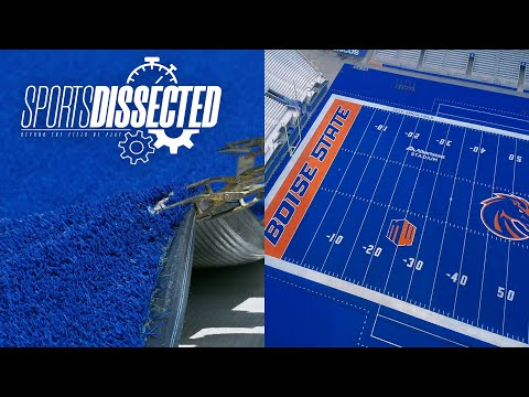 How BOISE STATE FOOTBALL'S Blue Turf Is Made   Sports Dissected