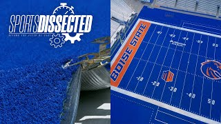 How BOISE STATE FOOTBALL'S Blue Turf is Made | Sports Dissected