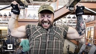 Crushing Upper Back & Calves Workout   Day 12   Kris Gethin's 8-Week Hardcore Training Program