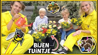 BiJENTUiNTJE MAKEN MET ZAPP YOUR PLANET ( Flower Power) 🐝 | Bellinga Vlog #1784