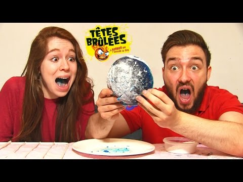 CRASH TEST en COUPLE ! TETE BRULE DE 1KG challenge !!