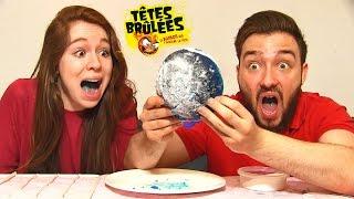 CRASH TEST en COUPLE ! TETE BRULE DE 1KG challenge !! thumbnail