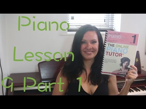 Learn the Piano Book 1 | EASY | Beginners | Lesson 9 part 1/40