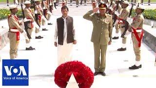 Pakistan PM Imran Khan meets army chief