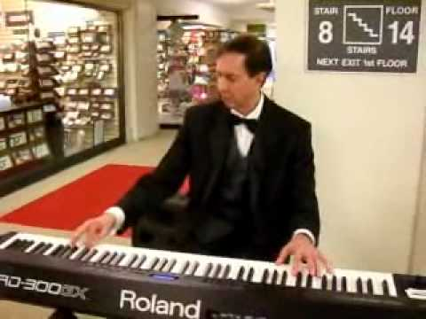 Dean Malsack Mr  Sandman Piano Trends at Chicago Gift Show