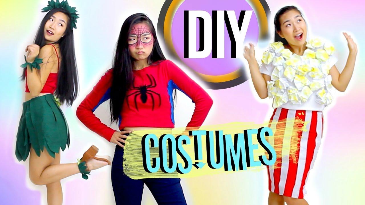 Diy Easy Halloween Costumes Jenerationdiy Youtube