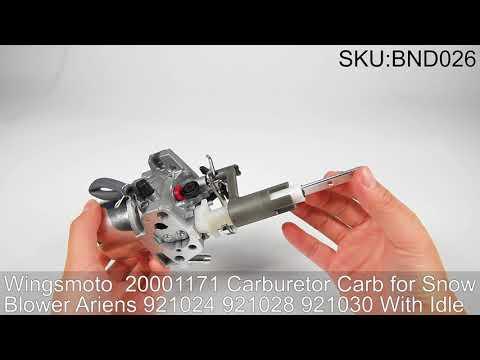 Wingsmoto Carburetor for Snow Blower Ariens 921032 20001382 921038 Huayi L16D Carb