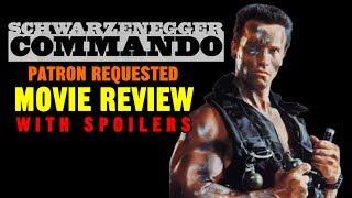 """COMMANDO"" (1985, Arnold Schwarzenegger) - Patron Requested Movie Review"