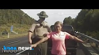 March 2018 Dashcam video shows accused trooper\'s two traffic stops