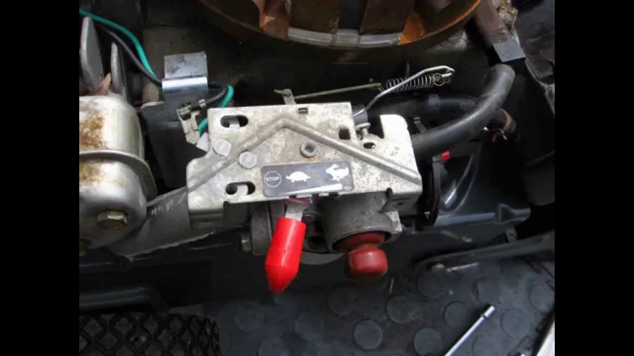 hight resolution of horizontal thumb throttle linkage configuration on smaller engines rh youtube com 5hp tecumseh throttle linkage 5hp tecumseh throttle linkage