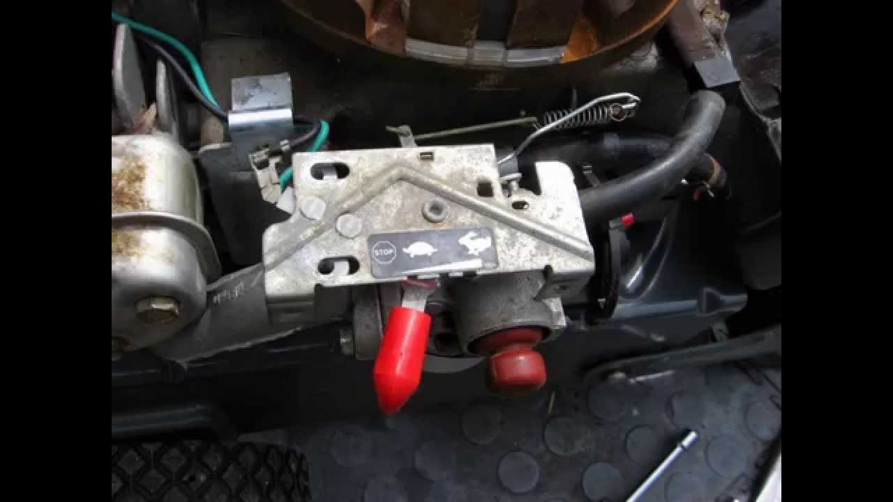 medium resolution of horizontal thumb throttle linkage configuration on smaller engines rh youtube com 5hp tecumseh throttle linkage 5hp tecumseh throttle linkage