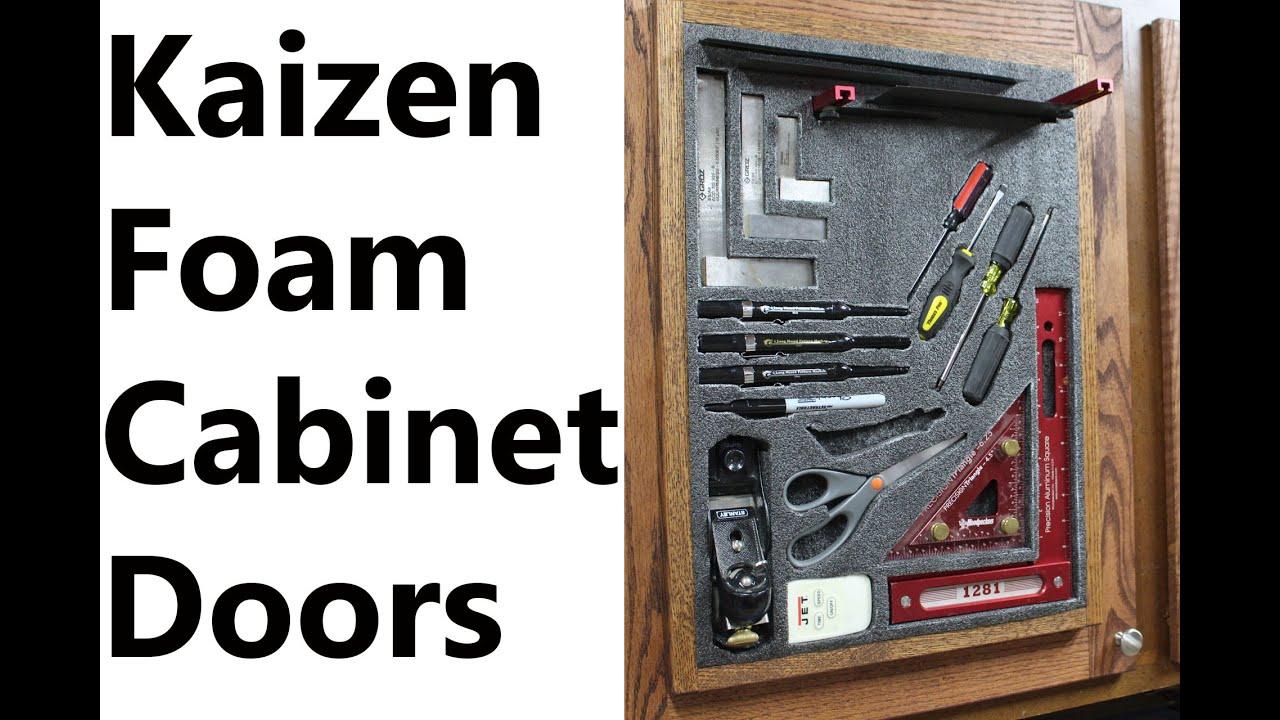 Kaizen Foam Cabinet Doors Youtube