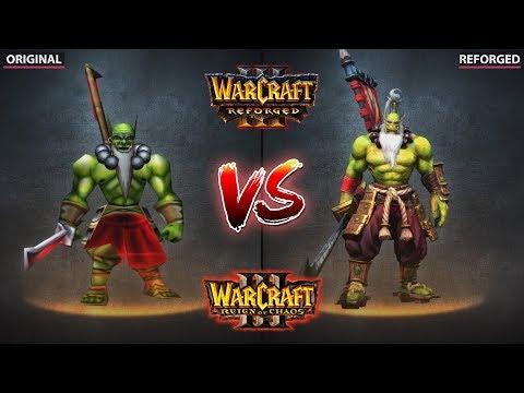 Warcraft 3 – Original vs. Reforged vs. Dota 2 Trailer & Gameplay Graphics Comparison