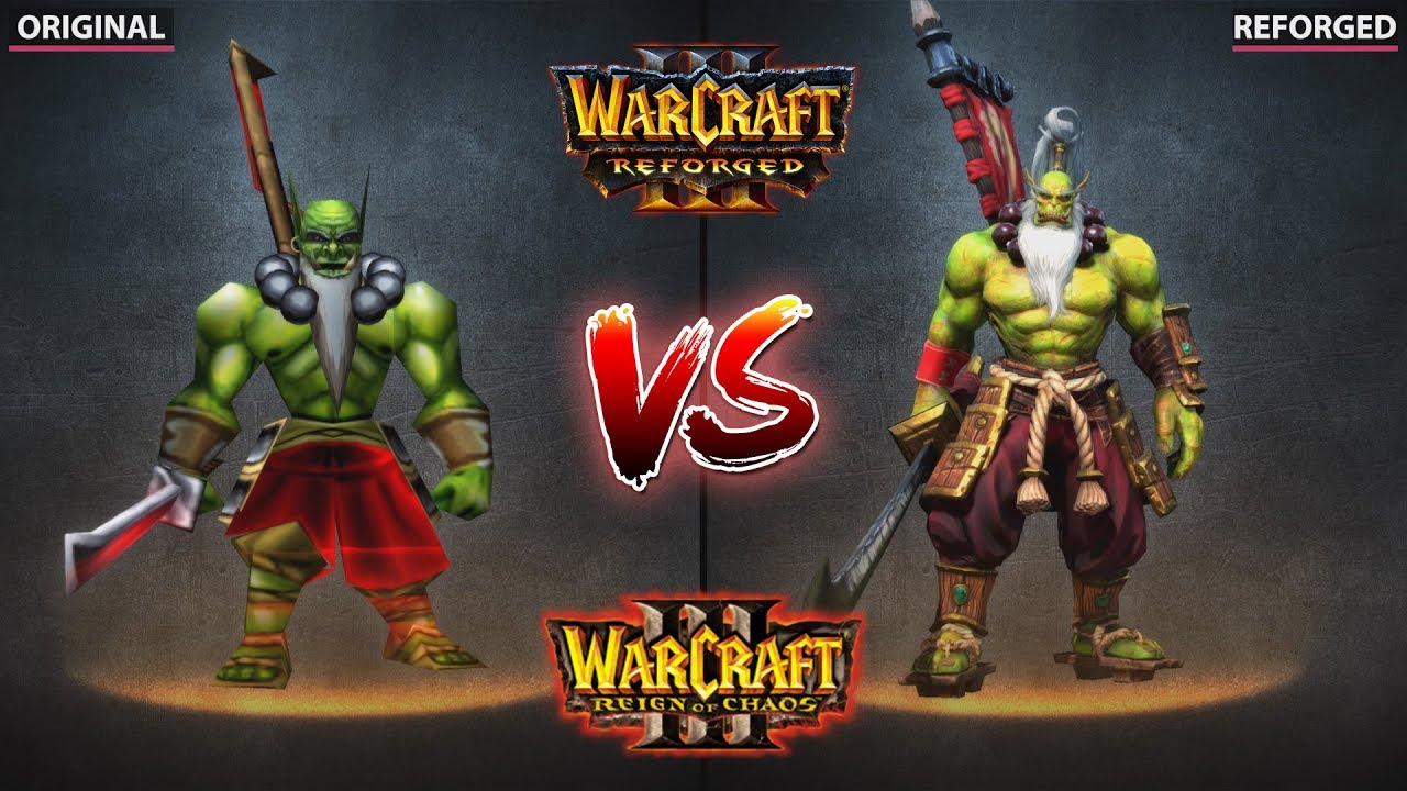 Warcraft 3 – Original vs  Reforged vs  Dota 2 Trailer & Gameplay Graphics  Comparison