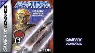 He-Man: Power of Grayskull (Game Boy Advance) (Gameplay) The GBA Files