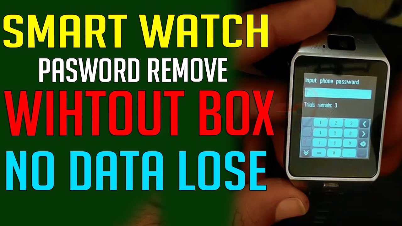 Smart Watch Password Unlock Any Devices Without Box -  screen password remove smart watch tools