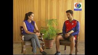 युवा क्रिकेटर उन्मुक्त चंद से भेंट II Criketer Unmukt Chand II