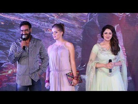 UNCUT Shivaay Trailer Launch   Ajay Devgn, Sayyeshaa thumbnail