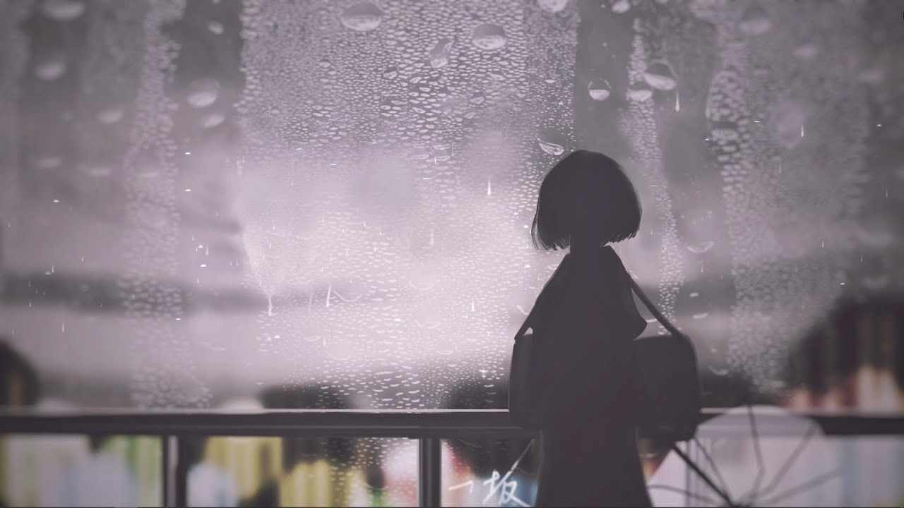 """Relaxing Sleep Music with Soft Rain Sounds """"Sounds in The Rain"""""""