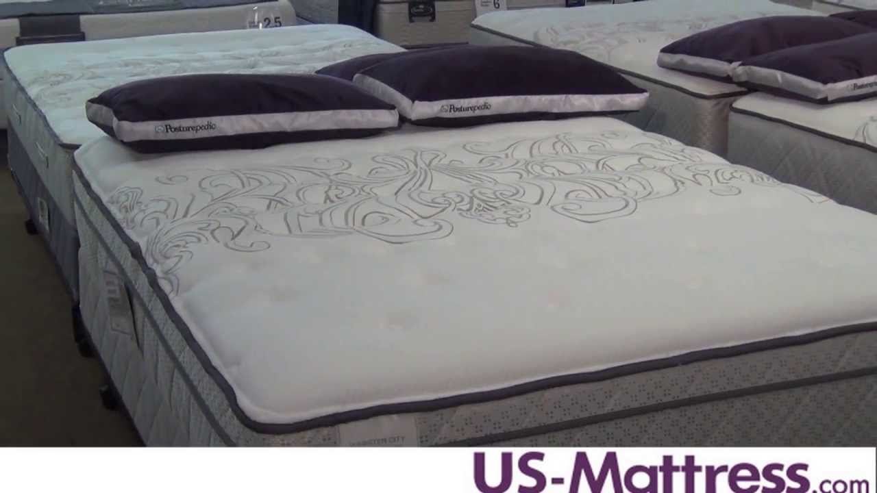 Sealy Posturepedic Classic Webster City Cushion Firm Euro Top Mattress