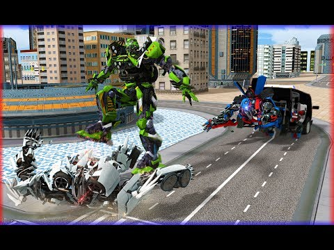 Police Robot Transformation - Prison Escape (By Creative Games Studios) Android Gameplay HD