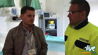 Esercitazione Seismic Bat 2017 a Minervino Murge intervista all' Ass. Michele Nobile