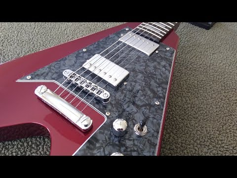 Do It Yourself - Candy Apple Red Flying V Project