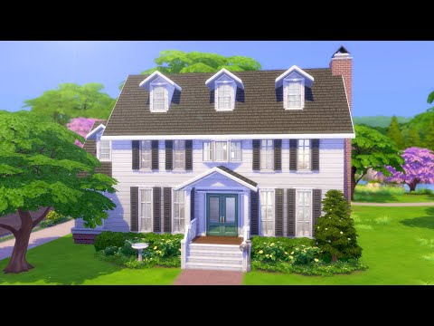BASE GAME BUDGET FAMILY HOME // The Sims 4: Speed Build