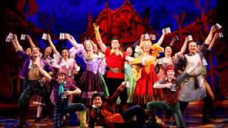 Gaston ~ Burke Moses and others Disney's Broadwaymusical The Beauty and The Beast.