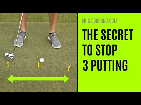 GOLF: The Secret To Stop Three Putting