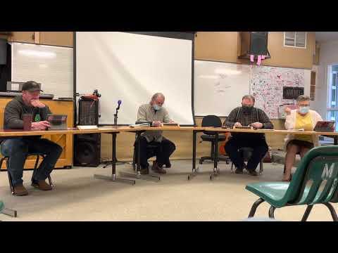 Selkirk school board meeting 3/29/21