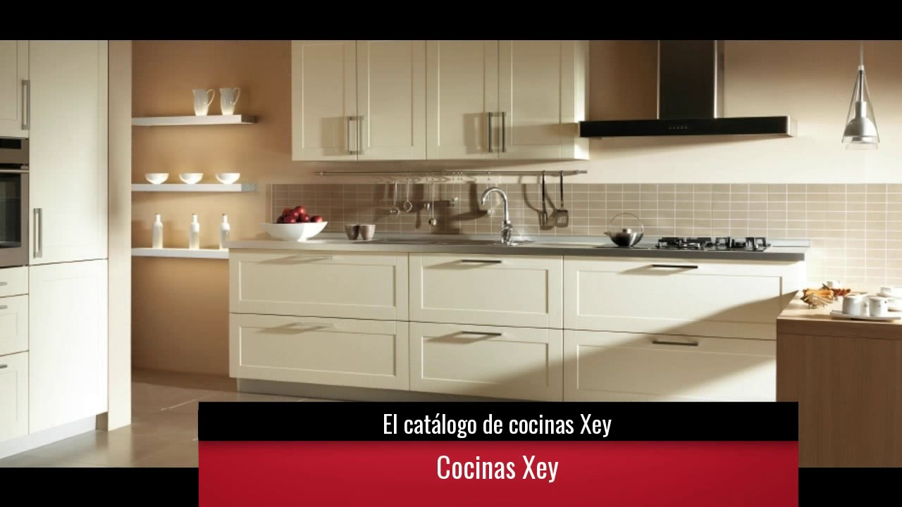 El cat logo de cocinas xey youtube for Catalogo cocinas