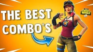BULLSEYE SKIN BEST COMBOS - Fortnite Battle Royale Gameplay