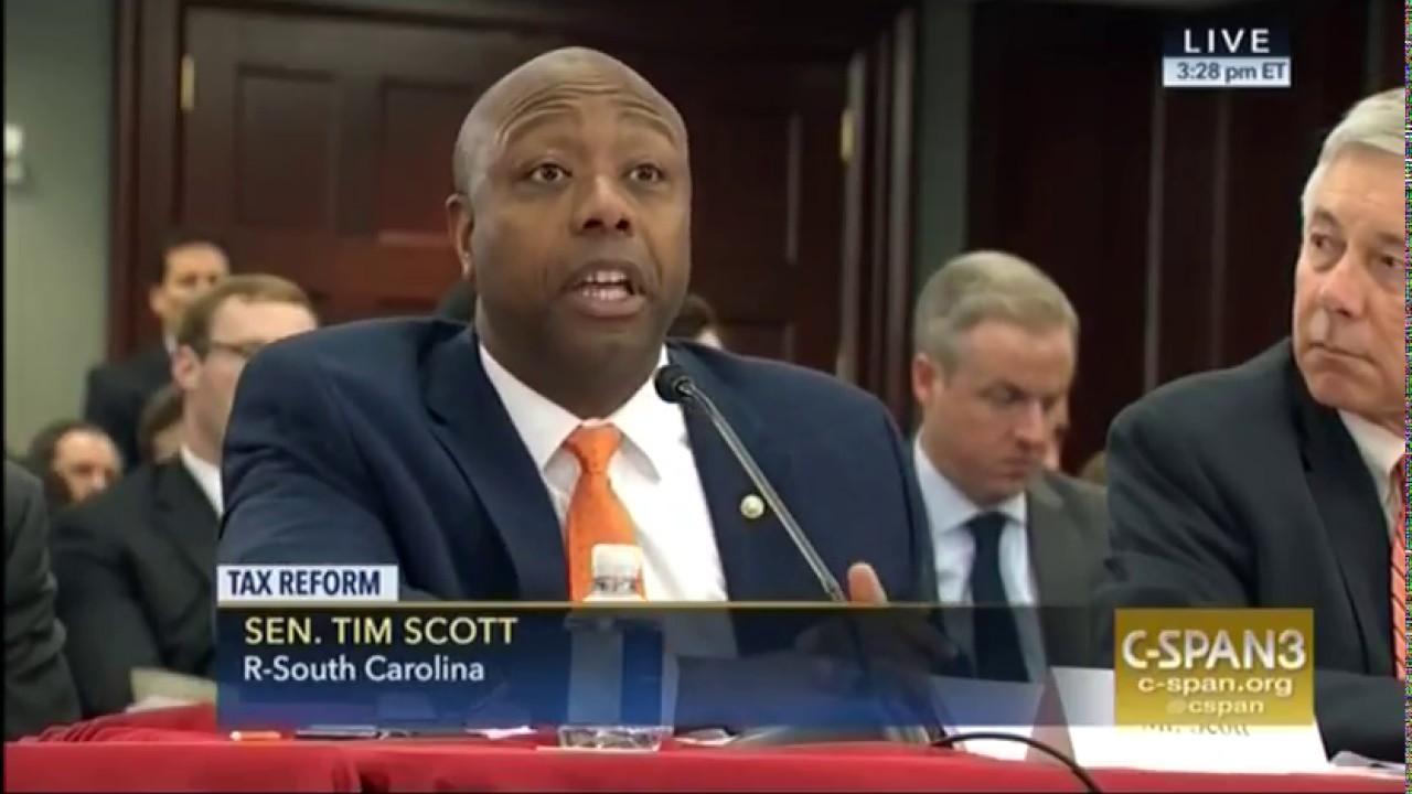 Tim Scott Family
